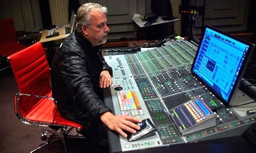 Skip Lievsay in studio