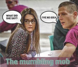 The Mumbling Mob